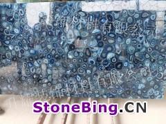 蓝玛瑙石复合板,透光板
