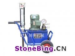 劈石机应用于矿山岩石荒料开采